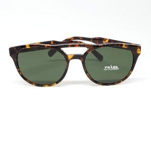 Prada Sunglasses Havana w/Green